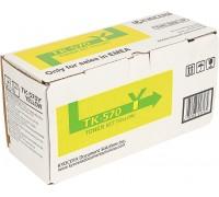 Тонер-картридж желтый TK-570Y для Kyocera Mita FS C5400DN / Kyocera Mita Ecosys P7035 оригинальный