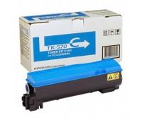 Тонер-картридж голубой TK-570C  для Kyocera Mita FS C5400DN / Kyocera Mita Ecosys P7035 оригинальный