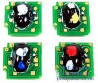 Чип черного картриджа HP Color LaserJet 2700