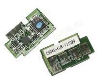 Чип голубого картриджа Samsung CLP-415
