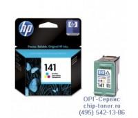 Картридж цветной HP 141 оригинальный