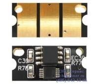 Чип желтого картриджа Oki C110 / C130 / MC160