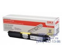 Картридж желтый 44250721 для Oki C110 / C130 / MC160 оригинальный увеличенного объема