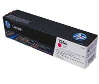Картридж пурпурный HP LaserJet Pro CP1025,  CP1025nw,  100 M175nw,  100 M175a,  HP Color LaserJet Pro M275 оригинальный
