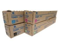 Комплект тонер-картриджей TN-328CMYK для Konica Minolta bizhub C250i / C300i / C360i оригинальный